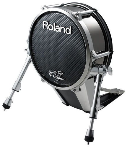Басовый пэд Roland KD-140-BC V-Drum Bass Kick Pad перкуссия и пэд roland spd one kick