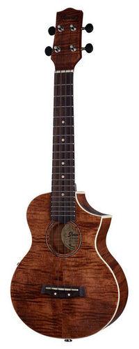 Концертное укулеле Ibanez UEW15E-OPN дредноут ibanez aw54 opn