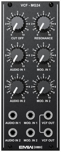 Модульный синтезатор EMW VCF-MG24 сад секреты сверхурожая