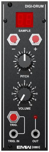 Модульный синтезатор EMW Digi-Drum коммутатор zyxel gs1200 8hp gs1200 8hp eu0101f