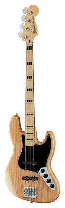 4-струнная бас-гитара Fender Deluxe Active Jazz Bass NAT fender pm 2 deluxe parlor nat page 7