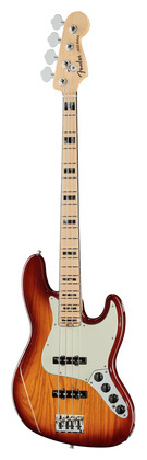 4-струнная бас-гитара Fender AM Elite Jazz Bass ASH MN TBS