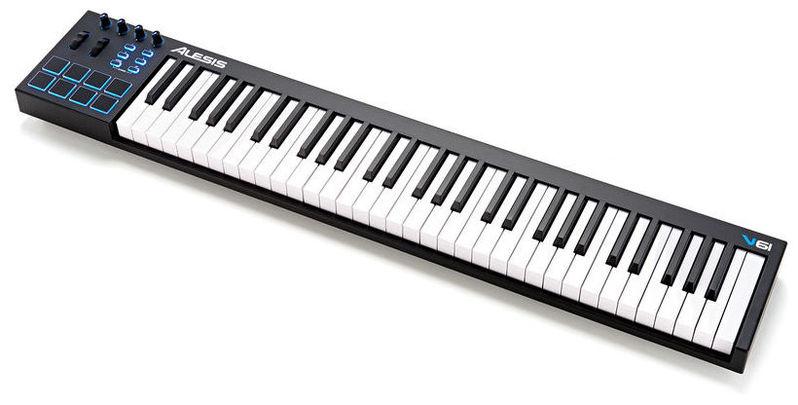 MIDI-клавиатура 61 клавиша Alesis V61 перкуссия и пэд alesis percpad