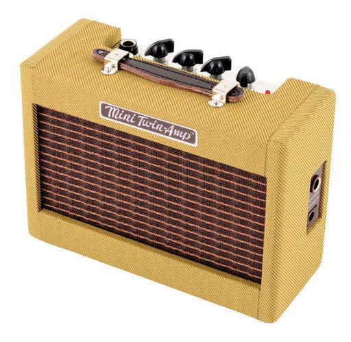 Гитарный усилитель Fender Mini '57 Twin Amp гитарный мини усилитель marshall гитарный мини комбоусилитель ms 2