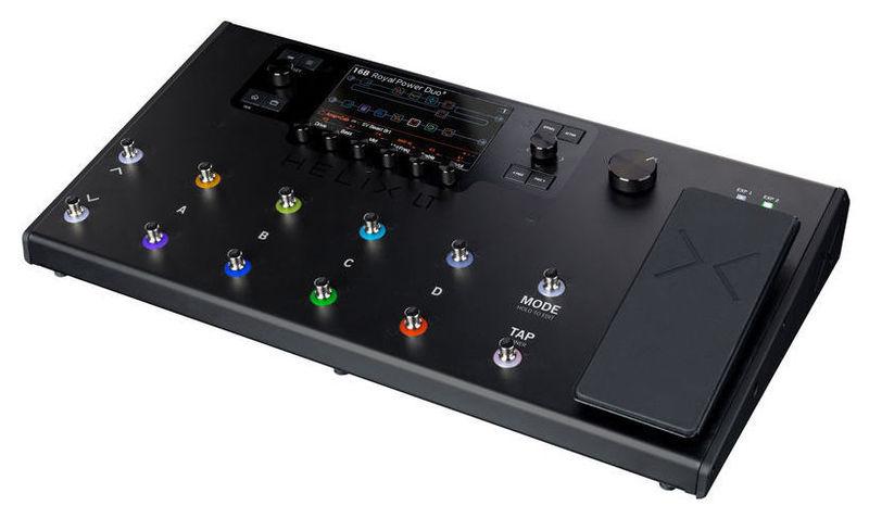 Гитарный процессор для электрогитары LINE 6 Helix LT гитарный процессор для электрогитары nux pg 2