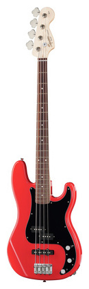 4-струнная бас-гитара Fender Squier Affinity P-Bass PJ Red squier