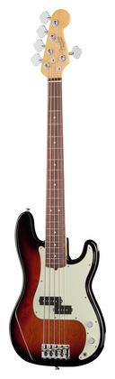 купить 5-струнная бас-гитара Fender AM Pro P Bass V RW 3TS по цене 174255 рублей