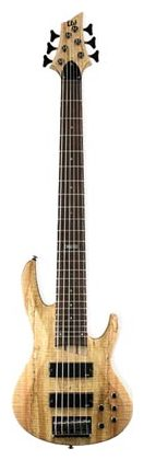 6-струнная бас-гитара ESP LTD B206 Natural Satin стратокастер esp ltd sn 200fr maple chm