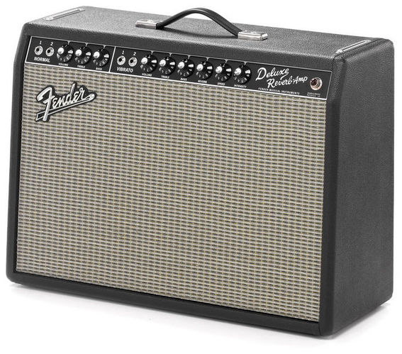 Комбо для гитары Fender 65 Deluxe Reverb комбо для гитары fender mustang gt 200