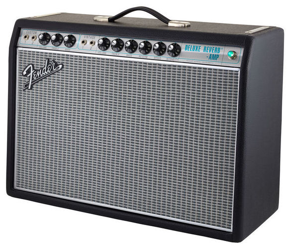 Комбо для гитары Fender 68 Custom Deluxe Reverb стоимость