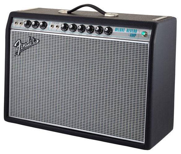 Комбо для гитары Fender 68 Custom Deluxe Reverb комбо для гитары fender mustang gt 200