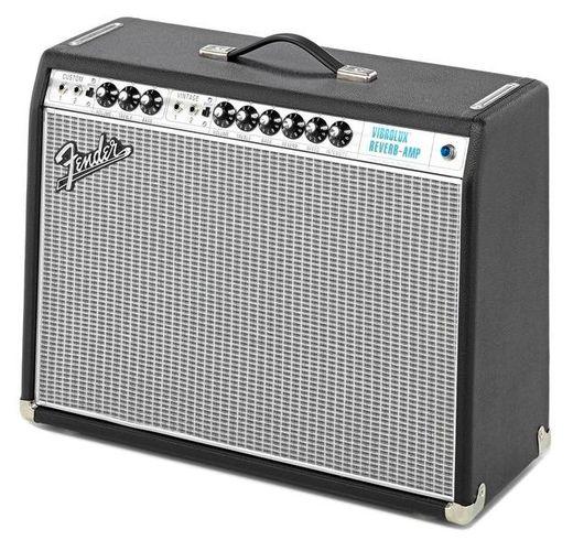 Комбо для гитары Fender 68 Custom Vibrolux Reverb комбо для гитары fender 68 custom twin reverb