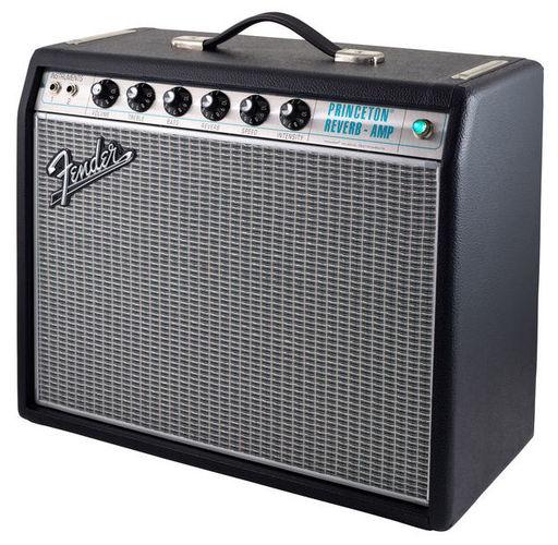 Комбо для гитары Fender 68 Custom Princeton Reverb комбо для гитары fender 68 custom twin reverb