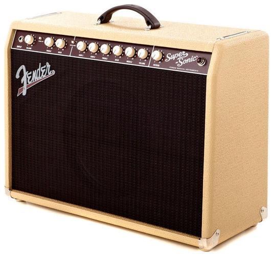 Комбо для гитары Fender Super-Sonic 22 Combo Blonde комбо для гитары fender champion 40
