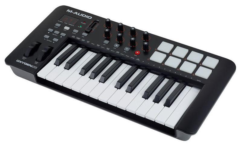 MIDI-клавиатура 25 клавиш M-Audio Oxygen 25 Mk4 цена