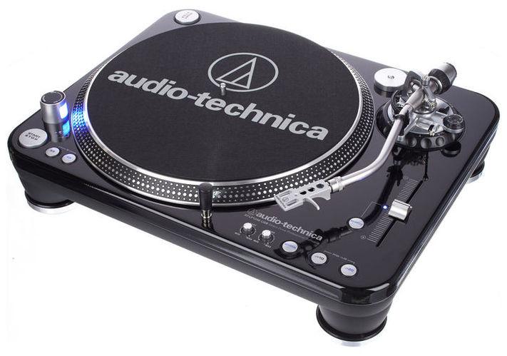 Проигрыватель винила с прямым приводом Audio-Technica ATLP1240USB проигрыватель винила с ременным приводом numark pt touring