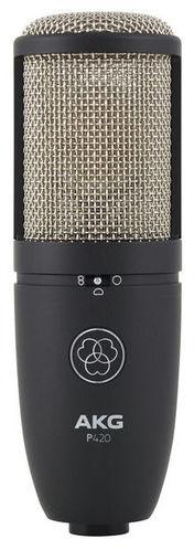 Микрофон с большой мембраной для студии AKG P420 микрофон для ударных инструментов akg c518m