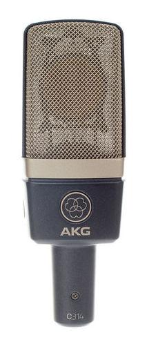 Микрофон с большой мембраной для студии AKG C314 микрофон для ударных инструментов akg c518m