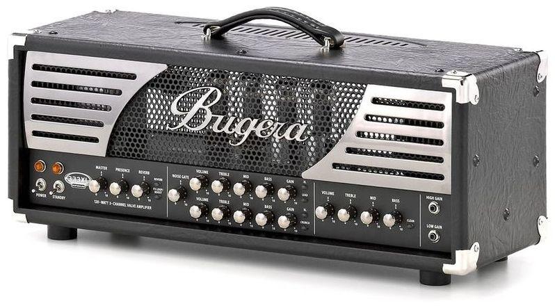 Усилитель головы BUGERA 333XL Infinium гитарный усилитель bugera 6262 infinium
