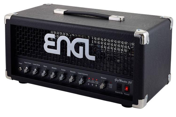 Усилитель головы ENGL E305 Gigmaster Head гитарный усилитель engl e762 retro tube 50