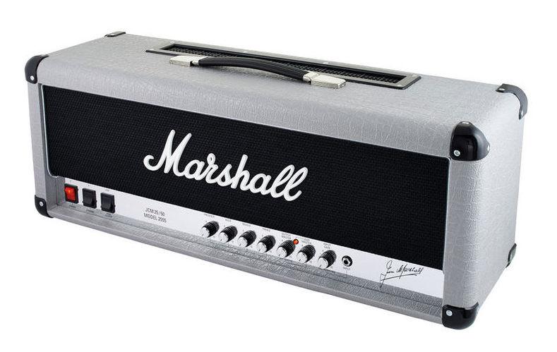 Усилитель головы MARSHALL 2555X Silver Jubilee гитарный мини усилитель marshall гитарный мини комбоусилитель ms 2
