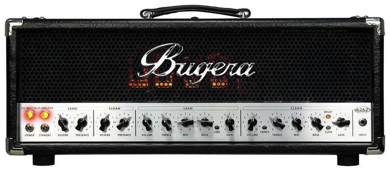 Усилитель головы BUGERA 6262 Infinium усилитель мощности 850 2000 вт 4 ом behringer europower ep4000
