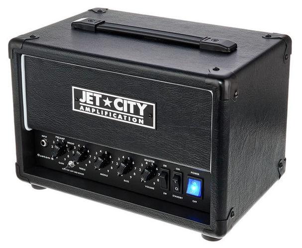 Усилитель головы Jet City Custom 5 BK усилитель мощности 850 2000 вт 4 ом behringer europower ep4000