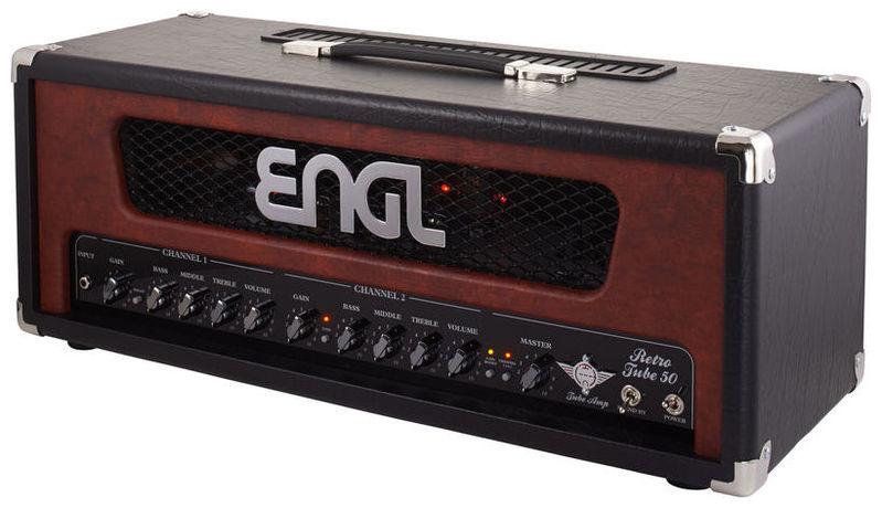 Усилитель головы ENGL Retro Tube Head 50 E 762 гитарный усилитель engl e762 retro tube 50