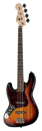 Fender Squier Vint Mod Jazz 3CSB LH 4 струнная бас гитара fender sq vintage mod jazz 3csb