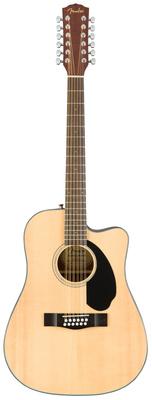 12-струнная гитара Fender CD-60SCE-12 Nat fender cd 60s nat