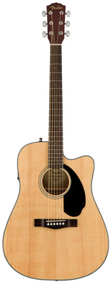 Дредноут Fender CD-60SCE Nat fender cd 60s nat