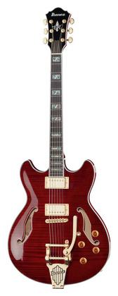 Полуакустическая гитара Ibanez EKM10T-WRD полуакустическая гитара gretsch brian setzer g6120 sslvo
