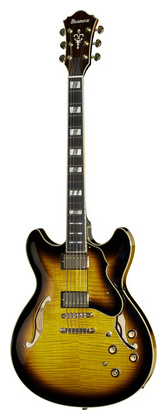 Электрогитара иных форм Ibanez AS153-AYS джазовая гитара ibanez am200 bk artstar prestige