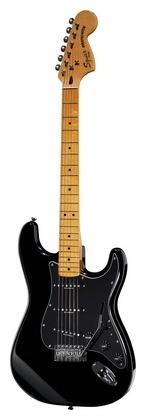 Стратокастер Fender Squier Vint. Mod. 70 Strat BK стратокастер fender standard strat mn lpb