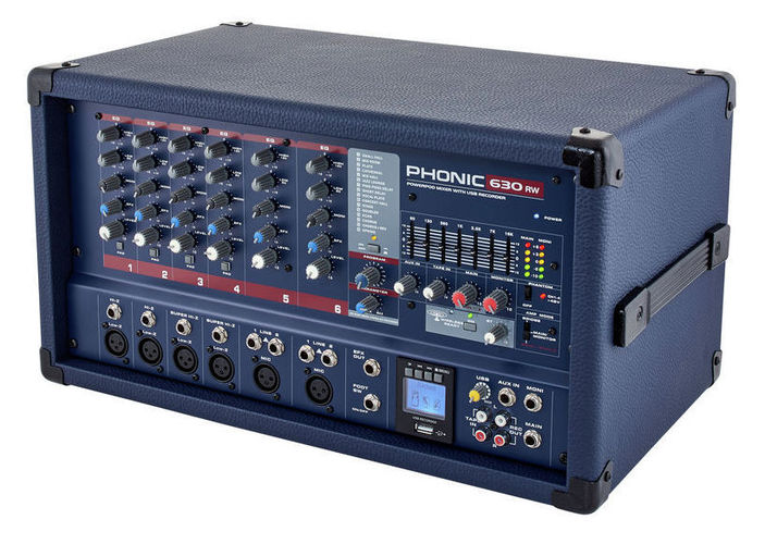 Микшер с усилением Phonic Powerpod 630RW микшер с усилением behringer pmp6000