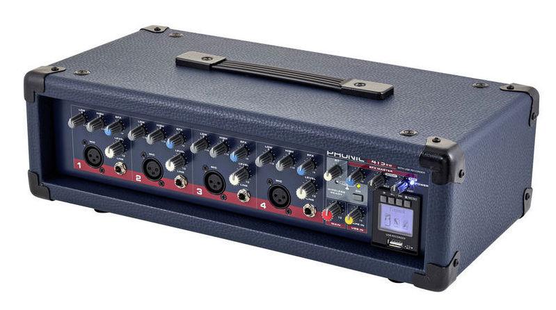 Микшер с усилением Phonic Powerpod 415RW микшер с усилением behringer pmp6000
