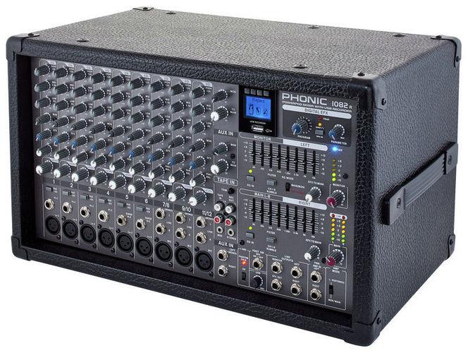 Микшер с усилением Phonic Powerpod 1082R микшер с усилением behringer pmp6000