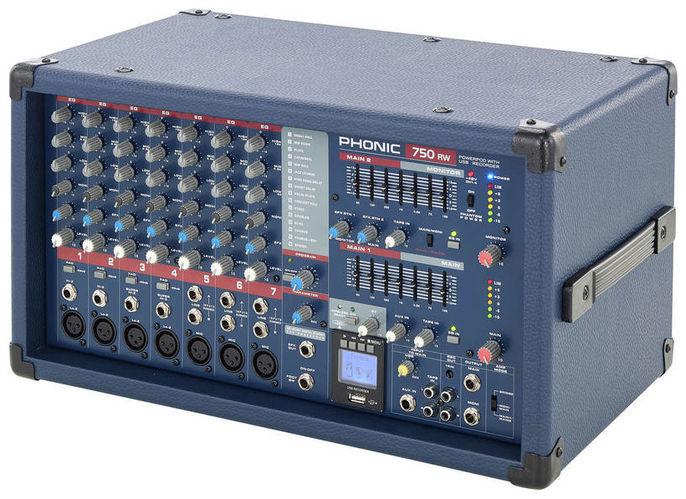 Микшер с усилением Phonic Powerpod 750RW микшер с усилением behringer pmp2000d