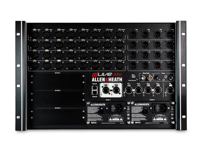 Цифровой микшер Allen & Heath dLive DM32 цифровой микшерный пульт allen