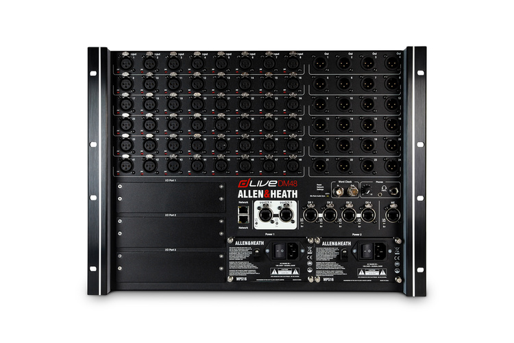 Цифровой микшер Allen & Heath dLive DM48 цифровой микшерный пульт allen