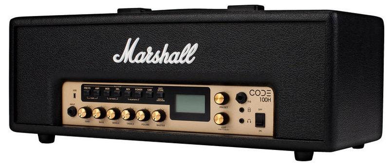 Усилитель головы MARSHALL Code 100 Head усилитель мощности 850 2000 вт 4 ом behringer europower ep4000