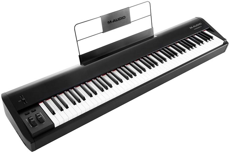 MIDI-клавиатура 88 клавиш M-Audio Hammer 88 midi клавиатура 88 клавиш miditech i2 stage 88