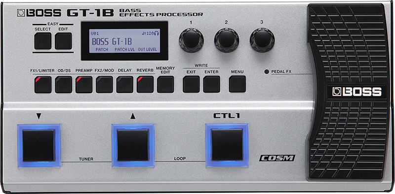 Гитарный процессор для бас-гитары Boss GT-1B boss gt 100