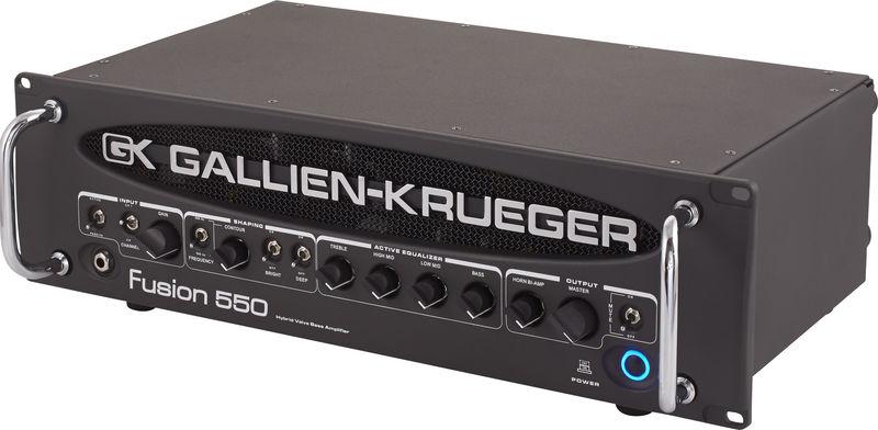 Усилитель голова для бас-гитары Gallien Krueger Fusion 550 усилитель мощности 850 2000 вт 4 ом behringer europower ep4000
