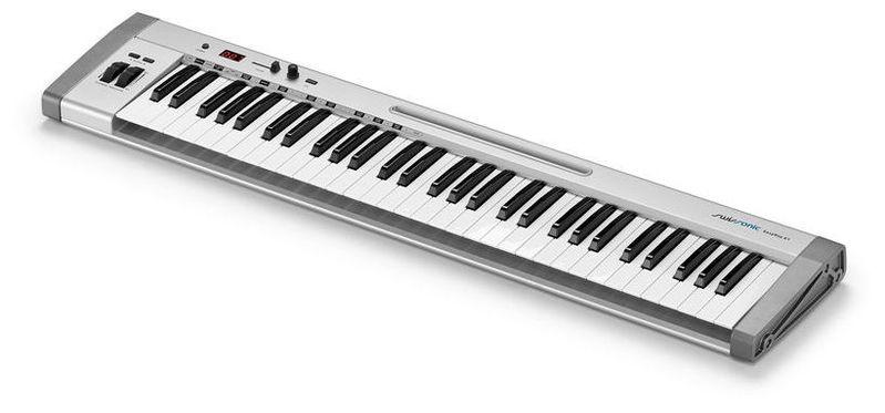MIDI-клавиатура 61 клавиша Swissonic EasyKey 61 midi клавиатура 61 клавиша miditech i2 61 black edition
