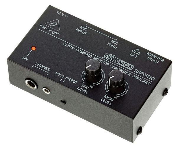 Усилитель для наушников Behringer MICROMON MA400 behringer x1622usb