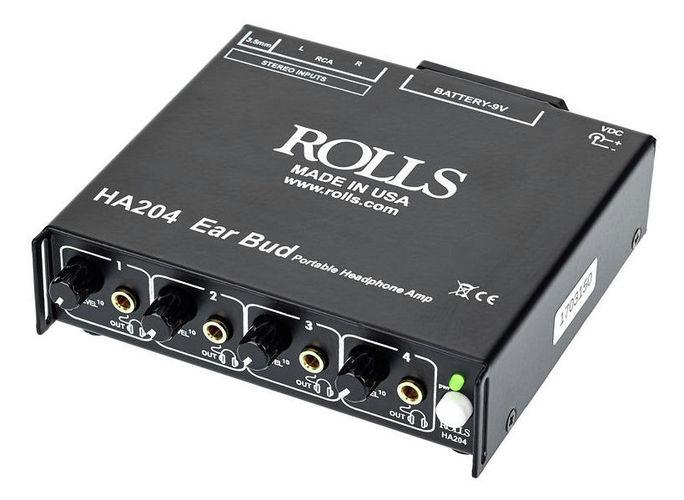 Усилитель для наушников Rolls HA 204p в вологде усилитель для рации