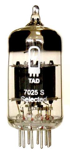 TAD RT011 Tube 7025S Mullard tad rt212 tube 6l6gc str duett