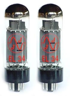 TAD JJ EL34 Duett Matched Tubes tad rt212 tube 6l6gc str duett