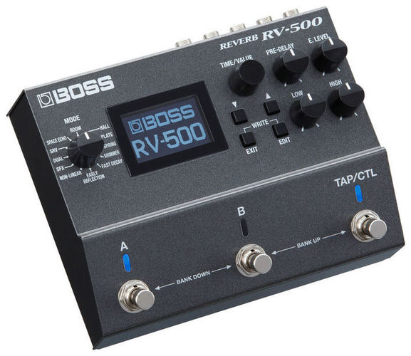 Гитарный процессор для электрогитары Boss RV-500 Reverb комбо для гитары boss katana mini